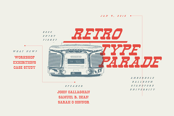 Retro vintage 1980s 1970s Classic poster Display ad Typeface Free font modern Humanis cowboy