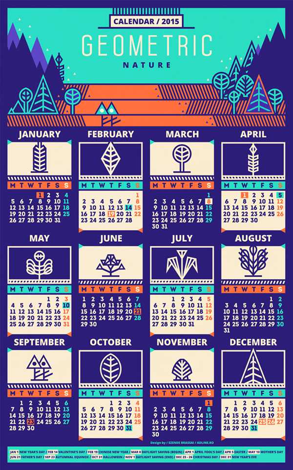 Design Calendar Of Events : Calendar pattern on behance