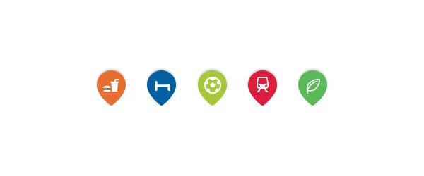 icons Layout Web