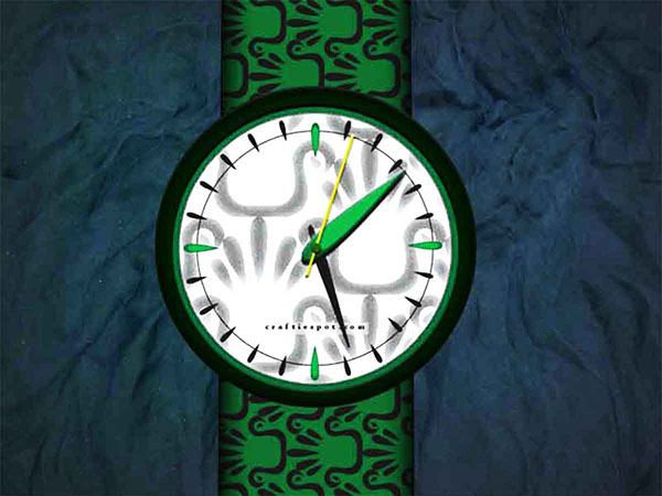 watch swatch logo pattern Accessory brand design accessories green recycling revamp home decor