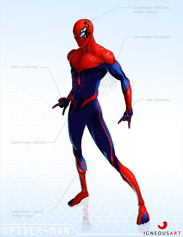 Character Design Artist Job Description : Marvel remix on character design served
