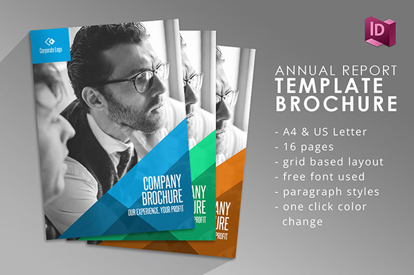 company brochure adobe indesign template on pantone canvas gallery