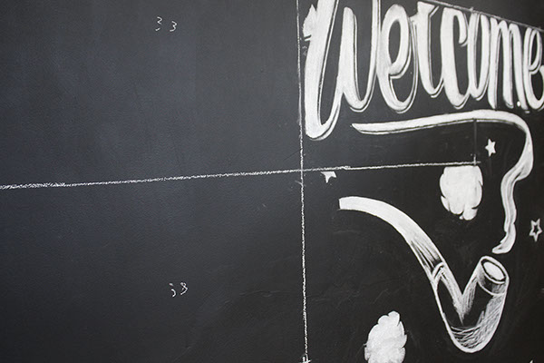 chalk chalk board black board letters draw ilustration retro chalk board vintage Retro Interior Office studio wall studio Wall draw stop motion