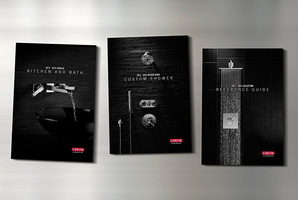 Delta® Faucet Company 2013+2014 Catalog Covers on Behance