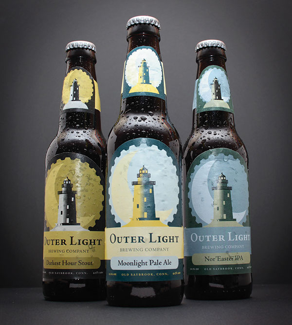 Outer Light Brewing Company On Behance