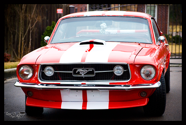 stock photo,1967 mustang,Classic Cars,Commercial Photography