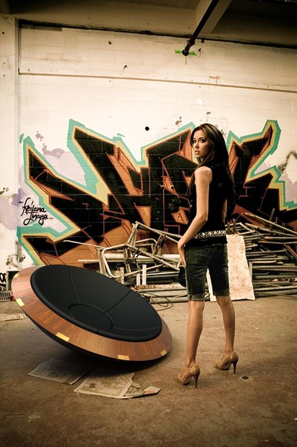 wood  spin  lounge  chair  digital  craftmanship  fun digital  analog  stars  Outdoor