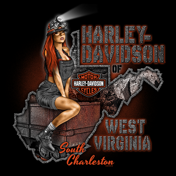 Harley davidson pinup art on behance freerunsca Images
