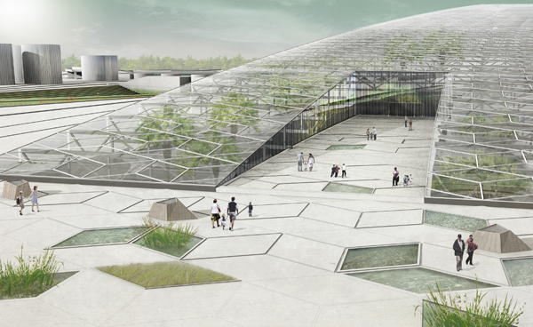 Davyhulme Wetlands And Anaerobic Digestion Park On Behance
