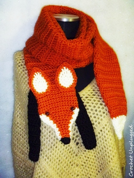 Free Crochet Patterns Fox Scarf : WTF!...(Wrap The Fox) Faux Fox Scarf on Behance