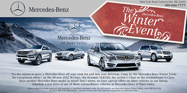 Valley Motors Marketing Includes Direct Mail Postcards, Logo Design, Email  Blasts, U0026 Photography Shot For Both Website U0026 Television Spots. Mercedes  Benz ...