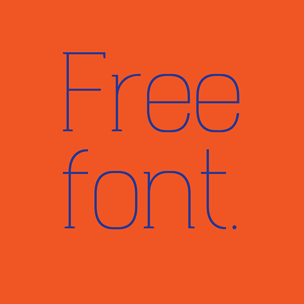 type free geometric Display serif Headline poster logo clean text book editorial news strong