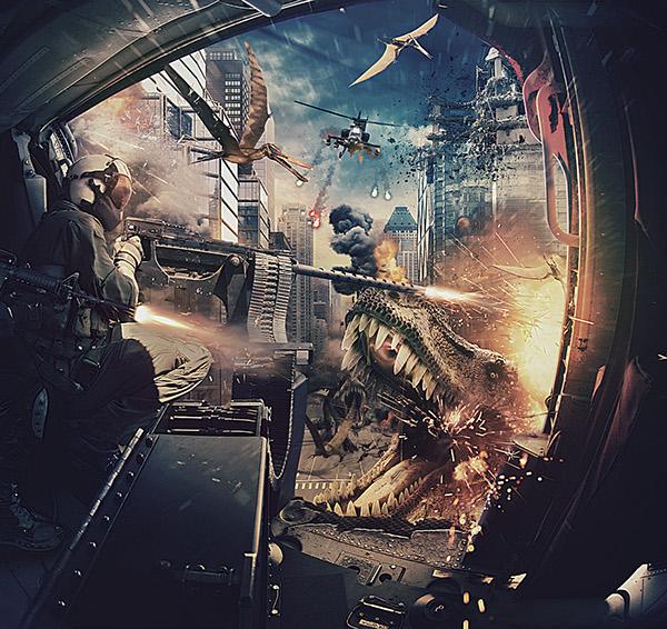 Dinosaurs by Fabio Araujo