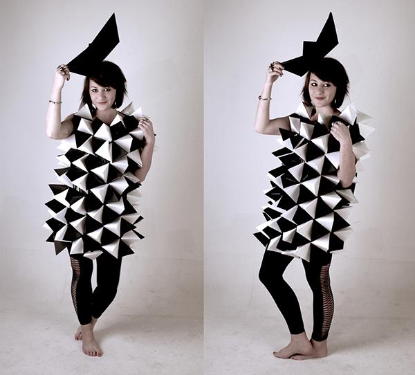 Robe origami on behance - Robe en origami ...
