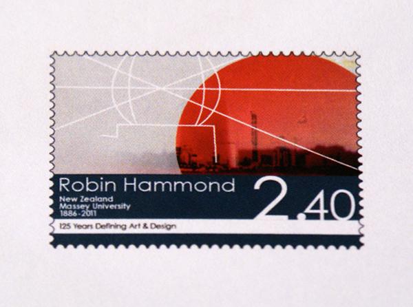Exposure stamps 125 Years Massey University