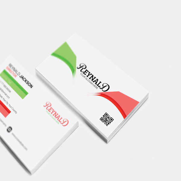 Free Corporate Business Card Illustrator Template on Behance