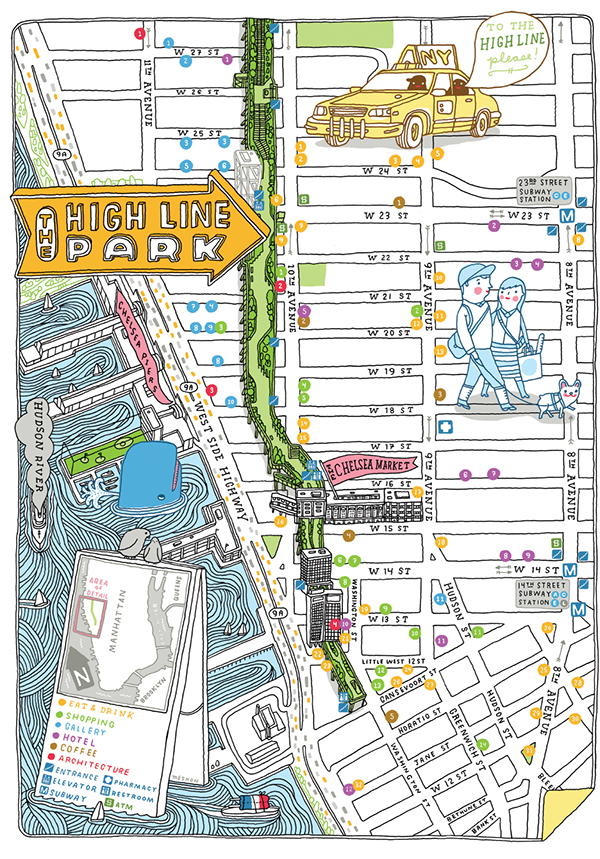 chelsea manhattan map with 14279185 on hudsonriverpark as well Residents Sound Off On Rising Noise further Tag Street Map New York as well High Line Guide Slideshow likewise Printable Map Of Manhattan.