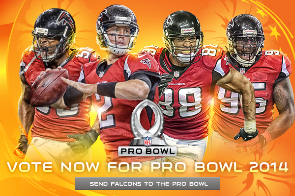 the latest 23133 94ff8 Atlanta Falcons Pro Bowl Graphics on Behance