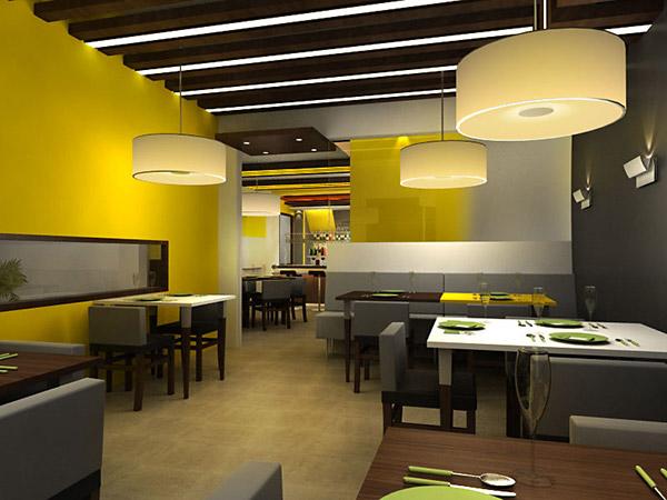 3d restaurant design on behance for 3d restaurant design software