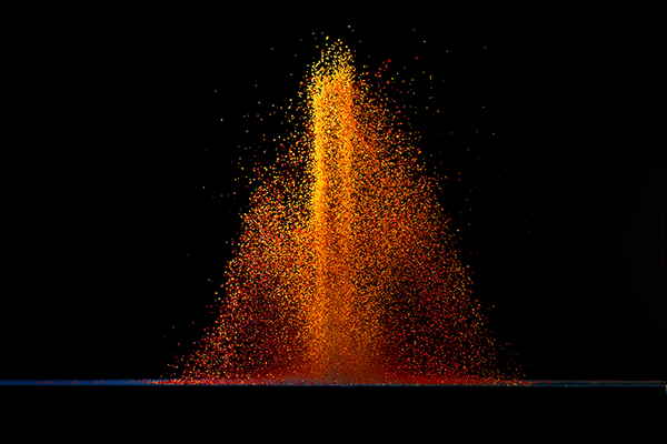 color jump Flash sound dancing High Speed Lifted special effect waves pigments