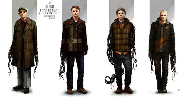 Creature Design Environment design horror concept art