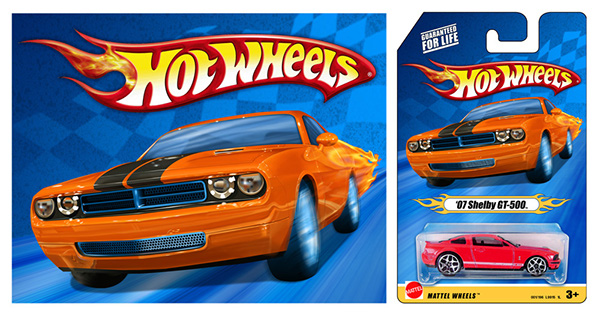 Hot Wheels car Packaging toys