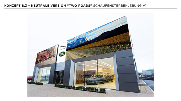 Jaguar Land Rover Retail Opening Concepts on SCAD Portfolios