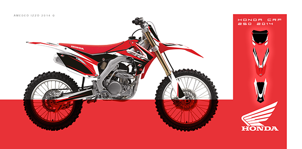 HONDA CRF 250 2014 on Behance