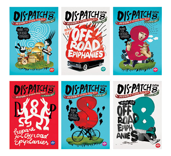 Dis-patch festival poster