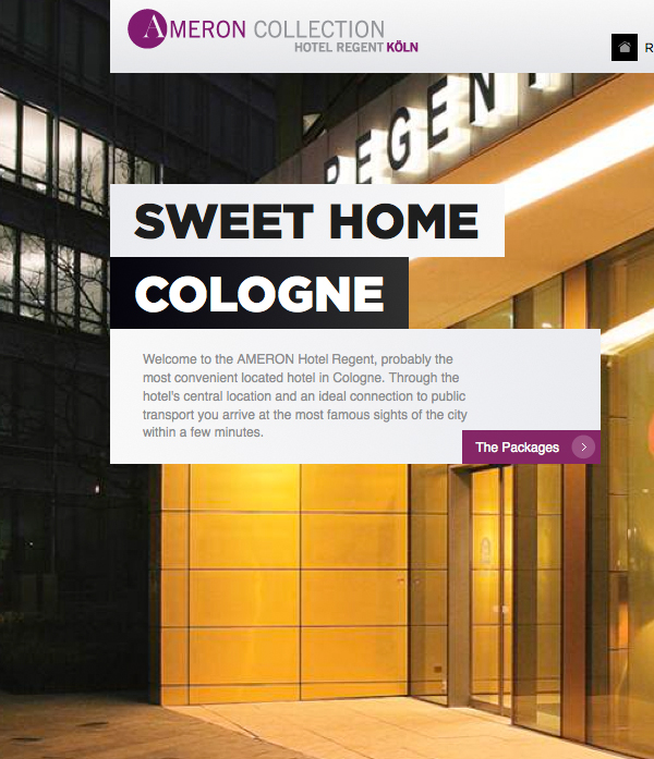 Ameron hotels germany on behance for Design hotels germany