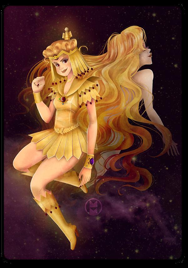Sailor Galaxia'   'Projeto Sailor Moon Brazil' on Behance
