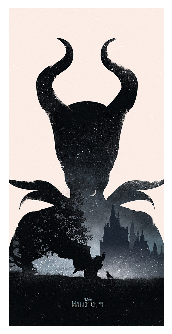 MALEFICENT MOVIE POSTER on Behance
