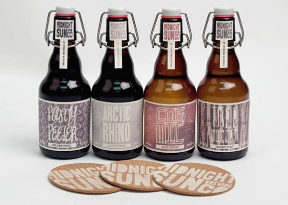 beer bottles logo type Label beer label Beer Packaging