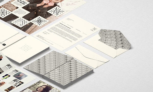 Dynamic logo Fashion & Production 3D dots evolving changing grid poster Website identity print mockups inspire