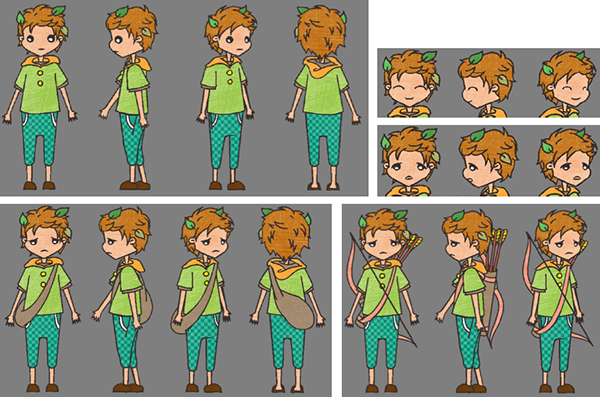 Toon Boom Character Design Tutorial : Character design boy on behance
