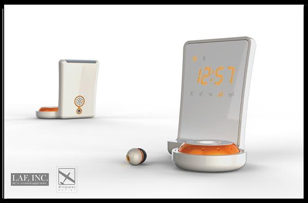 Alarm clock earbud ipone ipod concepts Renderings