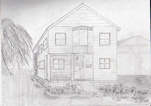 Dream House Design Drawing