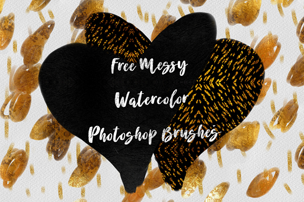 精美的12套photoshop水彩效果筆刷欣賞