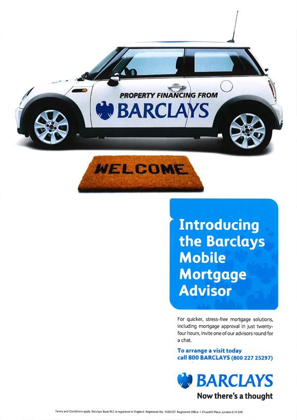 Barclays (Print) on Behance