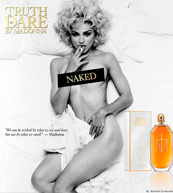 MADONNA TRUTH OR DARE NAKED 50ml for women Eau de Parfum