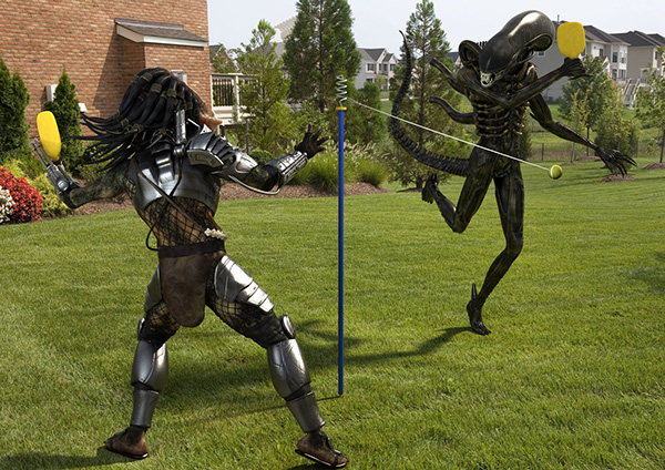 Alien vs predator pool