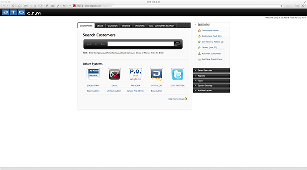 Custom crm system written in php mysql and jquery on behance malvernweather Gallery
