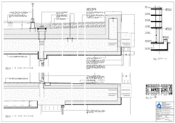 Proposed galway docks multistorey development on behance for Balcony upstand