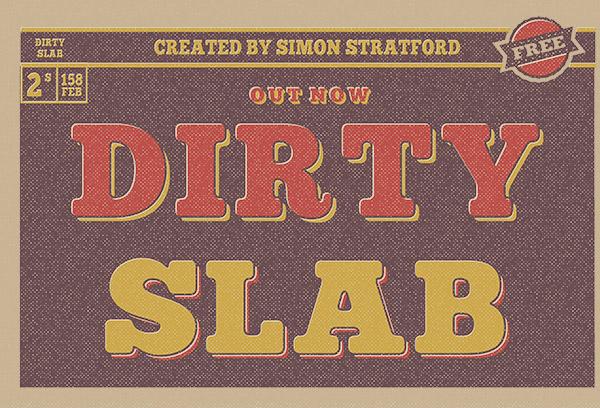 dirty slab type Typeface slab slab serif Simon stratford font letterpress wood type Hamilton download glyphs free type typeface design free typeface