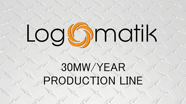 PV prduction lines pv cells PV panels renewables video Editing