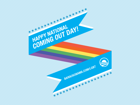 National Coming Out Day on Behance