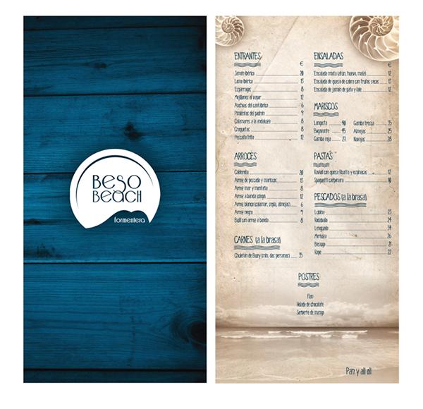 Beso Beach Restaurant Menu
