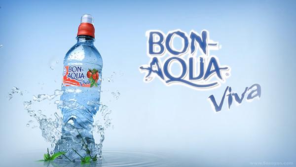 Bon Aqua Viva Commercial Packshot On Behance
