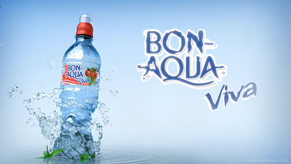 Viva Aqua bon aqua viva commercial packshot on behance
