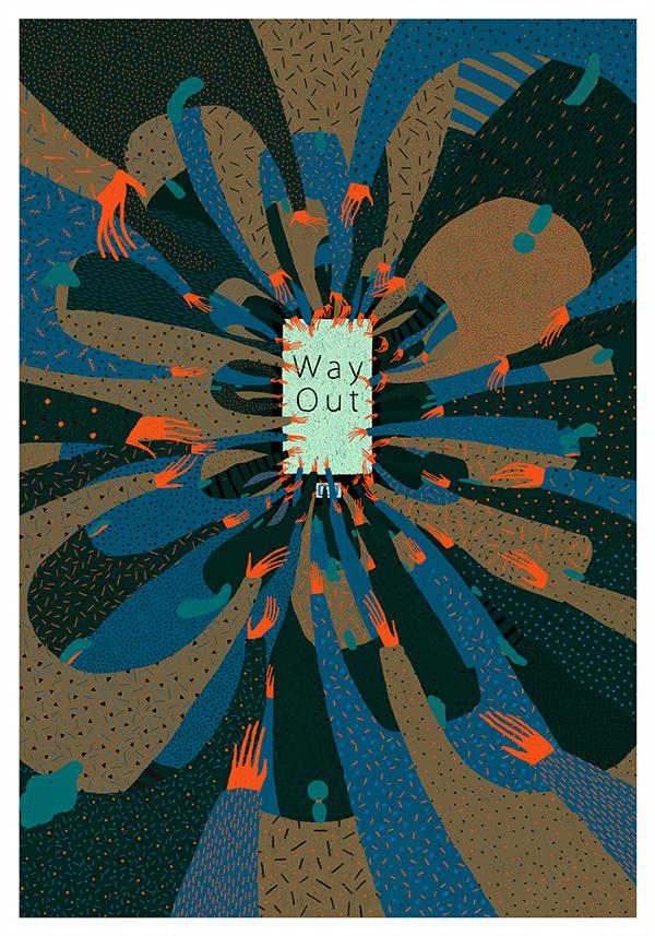 Way Out  出  口 by Yukai Du